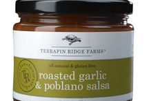 Gluten Free Salsa! / Salsa lovers who enjoy the finest gourmet salsas right out of a jar will find our gluten free salsa flavors full of the finest natural ingredients. Whether you prefer a zesty kick or sweet satisfaction, Terrapin Ridge Farms has a gourmet salsa for your favorite snacks and salsa recipes.