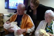 Morning Pointe Alzheimer's Residents Embrace Cuddle Therapy
