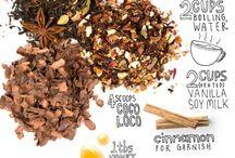 Tea and coffee recipes etc