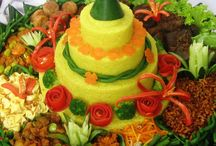 Indonesian Kuliner / all types of food and drink in the Indonesia
