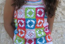 girls summer knit@crochet / by Sonja