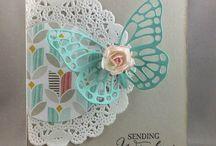Karten Schmetterling