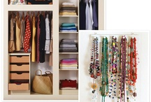 Small closet  / Ideas for organization in a small area