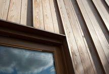 Wood fasades