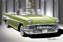AUTOMOTIVE ART AND PHOTOS / Great GM VIntage Photos, the Art of Danny Whitfield and great classic GM Cars !