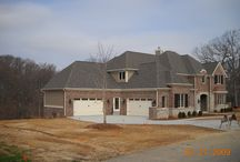 Hardie Khaki Brown   New Construction   Wildwood, MO. 63040 / This is a siding job that was on a new home. James Hardie Lap Cedarmill Siding.