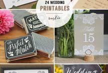 Wedding chalk boards / Chalk board