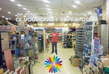 La squadra di Centro Colori Store