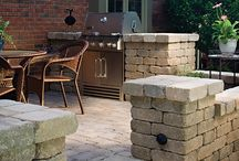 Modern Fire Pits & Barbecues Setup / There is no better way to enjoy summer weekends with friends and family than having them over for an outdoor BBQ.