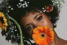 Flower Afro