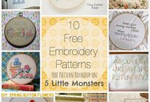 Friday Freebies / free pattern roundups on 5 Little Monsters