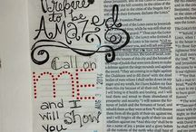bible journaling/ art / by Elicia Hopkins