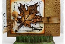 Tim Holtz Blueprint Stamps & Ink Ideas