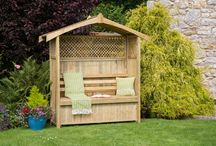 New Products 2014/15 / We have extended our garden furniture range for 2015 with the introduction of some stunning pieces, including a range of Arbours, the new Miami Swing and new planters.