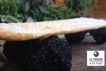 Truffle the way you live! / Truffe Art, Gastronomie inspirations, Truffle dich glücklich