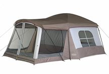 Camping / Tents and Inspiration holiday idea for getting out and enjoy the great outdoors