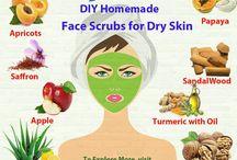 DIY Homemade Face Scrubs for Dry Skin