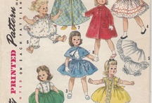 Sewing Patterns - Dolls & Clothes / by Susan Torrington