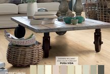 2016 Color Forecast / Inspiration featuring the Pura Vida color palette from the 2016 Sherwin-Williams Color Forecast. #trends