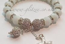 Bracelets / Lots of my glitzee creations. Hope you like them