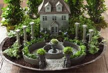 Mineature garden scapes