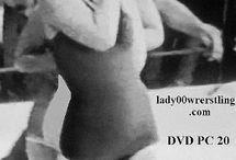 vintage women wrestling