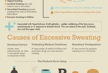 Excessive perspiration