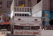 Unutulmayan kamyon yazıları