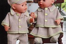 Nuken vaatteita - Doll's clothes