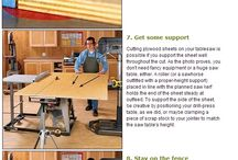 WOODWORKING SAWING