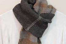 crochet scarfs & shawls