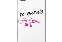 tee shirt Ta gueule je t'aime / http://legiux.spreadshirt.fr/t-shirt-ta-gueule-je-t-aime-I15222169