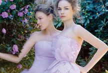 Gowns by Color: Purple & Violet / Wedding dresses, bridesmaids gowns and evening dresses in lilac, lavender, mauve, violet and purple / by Wedding Inspirasi