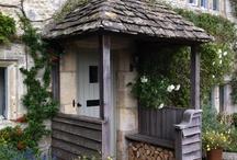 House exterior ideas / by Rachel Yates
