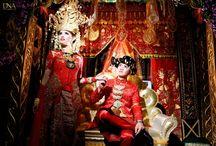 Inspirasi pengantin adat sumatera