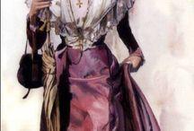 Costumes d'arlésiennes