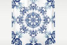 Shower Curtain from Kanvisstyle design /  Shower Curtain from Kanvisstyle design .Available on Society6