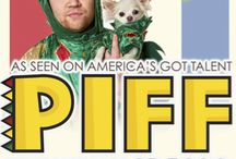 PIFF THE MAGIC DRAGON / Imagine Larry David in a dragon suit performing jaw-dropping magic tricks and you've gotPiff the Magic Dragon. With over 12 million YouTube hits and sold-out shows around the world, Piff has made a name for himself as the greatest performing dragon of all time. This summer he brought his unique humor to the America's Got Talent stage, along with his dog Mr. Piffles, the world's first magic-performing Chihuahua. http://www.thenewtontheatre.com/event/01247dac37377b0e056732263e95d5b4