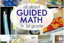 guided math / by Marisa Efird