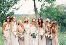 Bridesmaids <3 / bridesmaid attire for M & C wedding