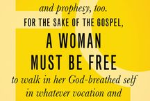 Books for Christian feminists and egalitarians