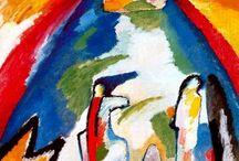 Wassily Kandinsky / Modern abstract artist