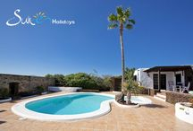 Casita Mácher - Lanzarote - Spain / Ideal for couples only seeking a peaceful holiday, but within easy reach of all amenities, resorts, sandy beaches and the amazing Timanfaya volcanic park