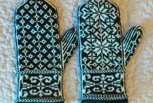 Knitting - mittens and socks