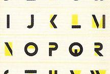 Alphabet typographique