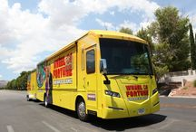 We love Vehicle Graphics / From full wraps to partial wraps on trams, trains and buses, boats and even planes! We are crazy about Vehicle Graphics!  Here are some of our favourite creative vehicle graphics from Pinterest and the web!.
