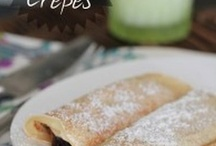 Crepes are really thin pancakes
