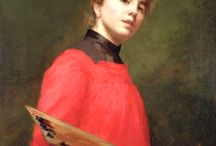 painter woman