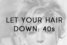 Let Your Hair Down: 40s / Our Let Your Hair Down campaign is bringing together people of all ages for a six-month healthy hair challenge! #LetYourHairDown