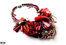 Big and great jewelry / Nacklaces and broochs - handmade in Poland!